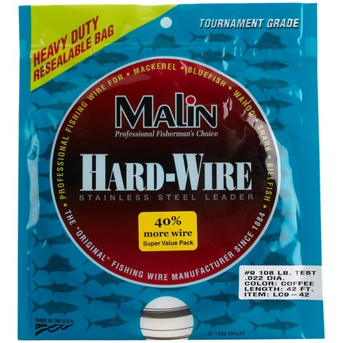 Malin 42 ft Hard-Wire Stainless-Steel Leader