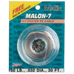 Malin 10-Yard Nylon-Coated Wire