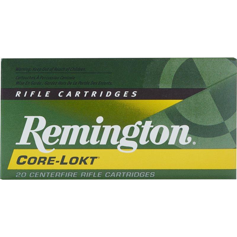 Remington Core-Lokt .243 Win. 100-Grain Centerfire Rifle Ammunition – Rifle Shells at Academy Sports