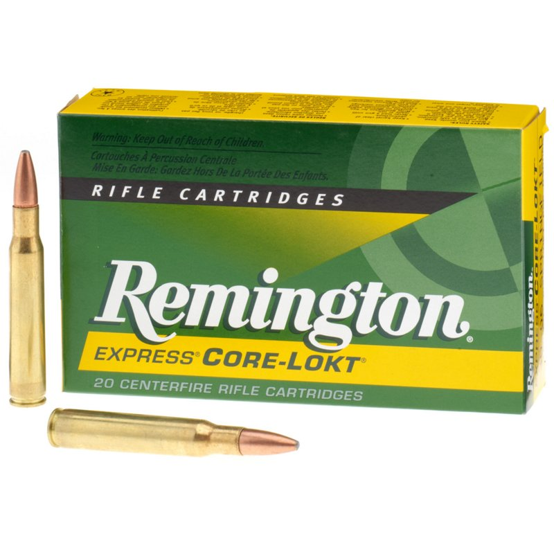 Remington Core-Lokt .30-06 Springfield 180-Grain Centerfire Rifle Ammunition – Rifle Shells at Academy Sports