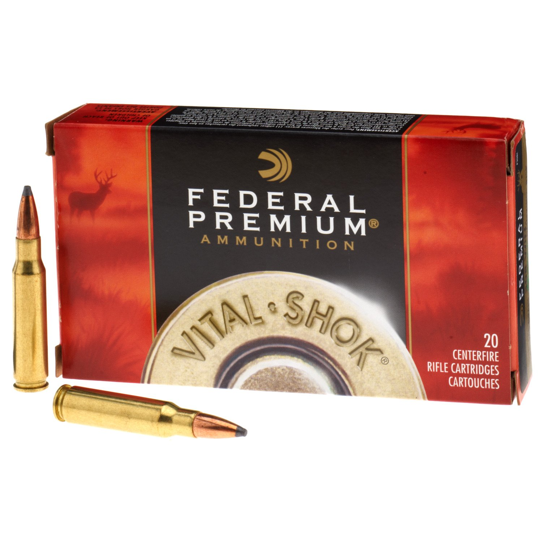 Federal Premium® Sierra® GameKing®  308 Winchester 165-Grain Rifle  Ammunition