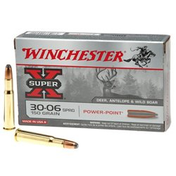 SUPER-X Power-Point .30-06 Springfield 150-Grain Rifle Ammunition