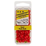 H&H Lure Plastic Round Beads 50-Pack