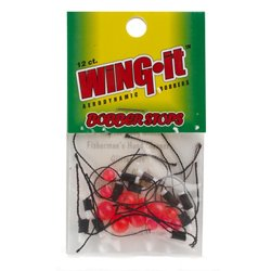 Carlson Tackle Wing-It Bobber Stops 12-Pack