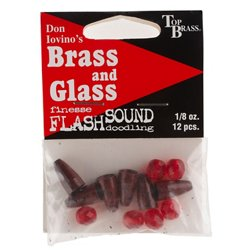 Top Brass Tackle Brass N' Glass Worm Weight System