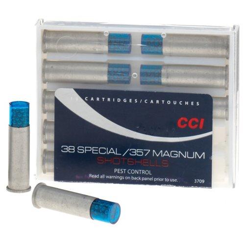 CCI® Pest Control .38 Special/.357 Magnum 109-Grain Centerfire Handgun Shotshells
