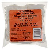 Southern Bloomer Universal Rifle/Pistol Cleaning Patches 125-Pack