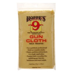 Hoppe's Wax-Treated Gun Cloth