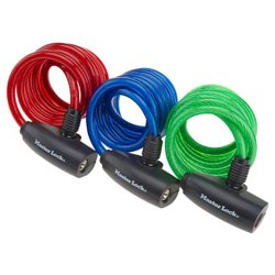 Master Lock® 6' Locking Cables 3-Pack