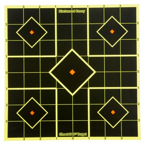 Birchwood Casey® Shoot-N-C® 8' Self-Adhesive Sight-In Targets 6-Pack