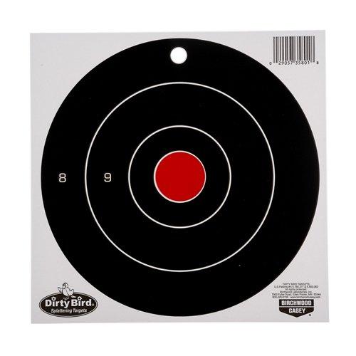 Birchwood Casey® Dirty Bird Bull's-Eye Splattering Targets 25-Pack