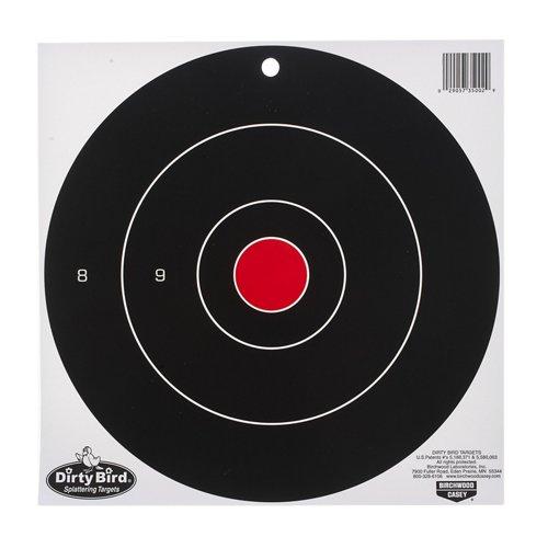 Birchwood Casey® Dirty Bird™ 12' Bull's-Eye Target Sheets 12-Pack