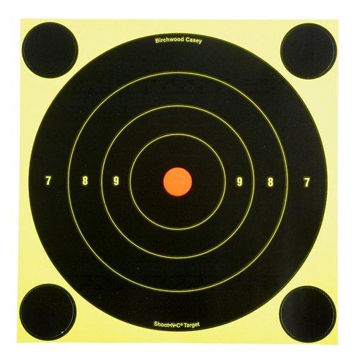 Birchwood Casey® 8' Shoot-N-C® Bull's-Eye Targets 6-Pack