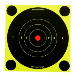 "Birchwood Casey® 6"" Shoot-N-C® Bull's-Eye Targets 12-Pack"