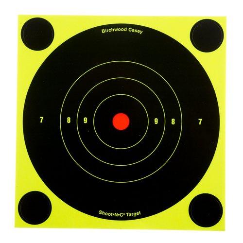 Birchwood Casey® 6' Shoot-N-C® Bull's-Eye Targets 12-Pack