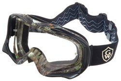 Game Winner® Adults' ATV Camo Clear Goggles