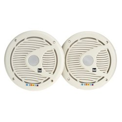 "Dual 6.5"" Coaxial Marine Speakers (Pair)"