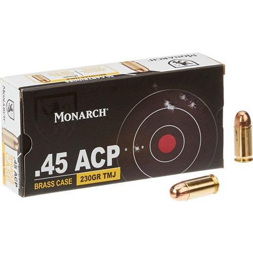 Monarch® TMJ .45 ACP 230-Grain Pistol Ammunition