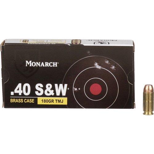 Monarch® TMJ .40 Smith & Wesson 180-Grain Pistol Ammunition
