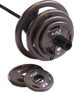 CAP Barbell 210 lb. Hand Grip Plate Set