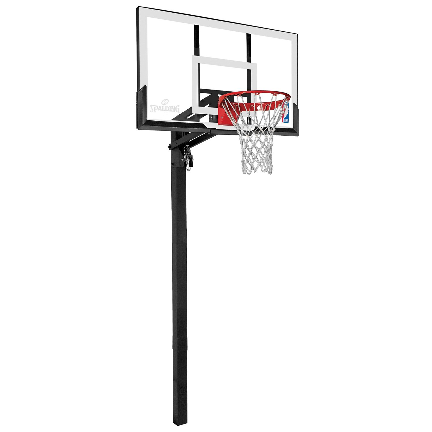 Display Product Reviews For Spalding 54 In Inground Acrylic Basketball Hoop