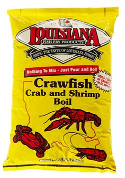 Louisiana Fish Fry Products 4.5 lb. Crawfish/Crab/Shrimp Boil
