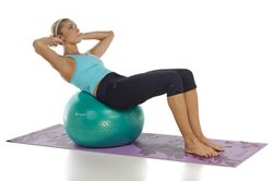 Gaiam Eco Total Body 65 cm Balance Ball Kit