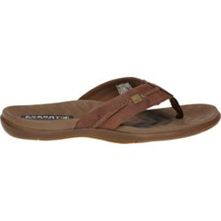Men's Double Marlin Sailboat Thong Sandals