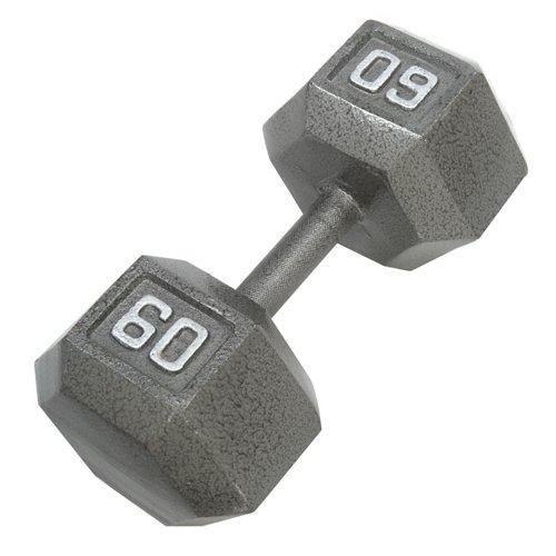 CAP Barbell 60 lb. Solid Hex Dumbbells