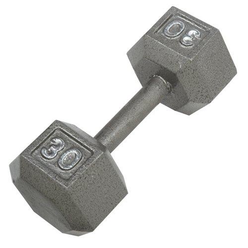 CAP Barbell 30 lb. Solid Hex Dumbbell