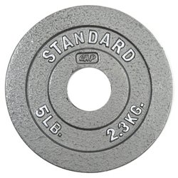 CAP Barbell Slim-Line 5 lb. Olympic Plate
