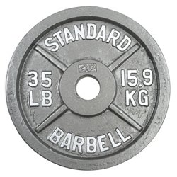 CAP Barbell Slim-Line 35 lb. Olympic Plate
