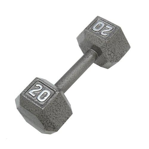 CAP Barbell 20 lb. Solid Hex Dumbbells