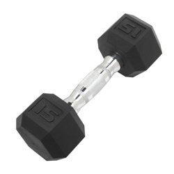 15 lb. Coated Hex Dumbbell