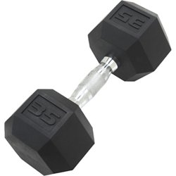 35 lb. Coated Hex Dumbbell