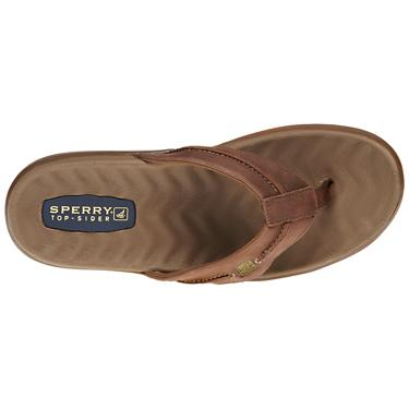 0b1559bda Sperry Men's Double Marlin Sailboat Thong Sandals | Academy