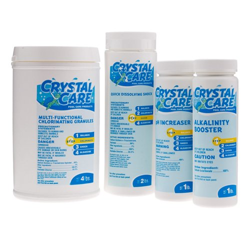 Crystal Care Aboveground Pool Maintenance Kit