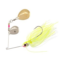 BOOYAH 3/8 oz Double-Colorado Blade Spinnerbait
