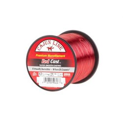 Cajun Line Red Cast 17 lb. - 700 yards Monofilament Fishing Line