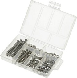 Marine Raider 81-Piece Stainless-Steel Machine Screw Kit
