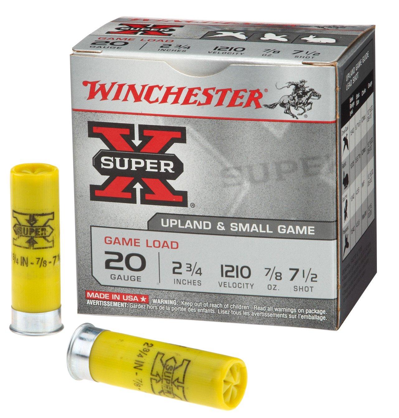 Winchester Super-X 20 Gauge Game Load Shotshells