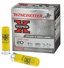 Winchester Super-X 20 Gauge Game Load Shotshells