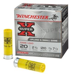 Super-X 20 Gauge Game Load Shotshells