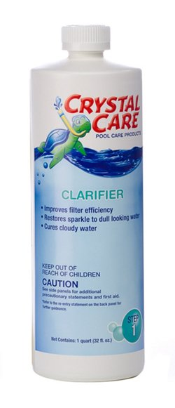 Crystal Care Pool Chemicals 1 qt. Super Clarifier