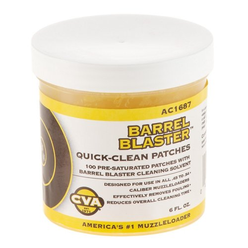 CVA Barrel Blaster Quick Clean Patches 100-Pack