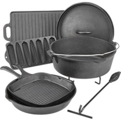 Cast-Iron Cookware Set in a Box