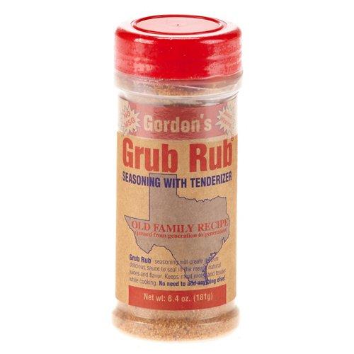 Gordon's Grub Rub® Seasoning with Tenderizer