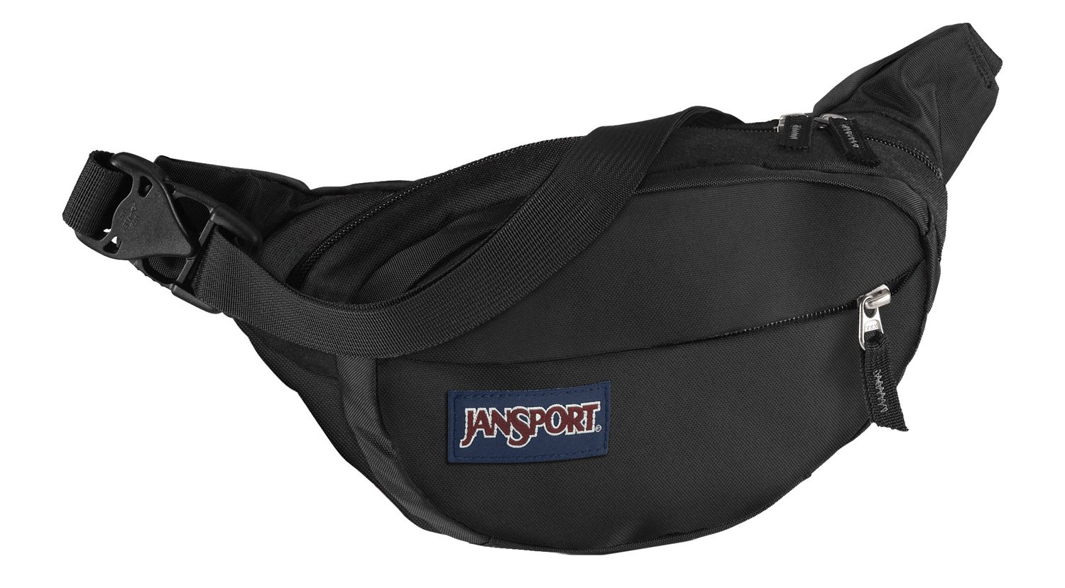 Hip Bag Black Woven Knit JanSport Fifth Ave FX Fanny Pack
