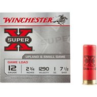 Winchester Super-X Lead Shot Game Load 12 Gauge Shotshells