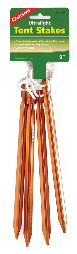 Coghlan's Ultralight Tent Stakes 4-Pack